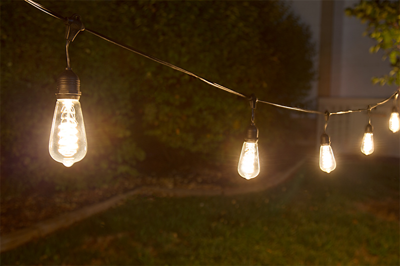Commercial grade outdoor led string lights w 10 led filament led patio string lights w 10 led filament or firework bulbs pendant sockets 21 workwithnaturefo