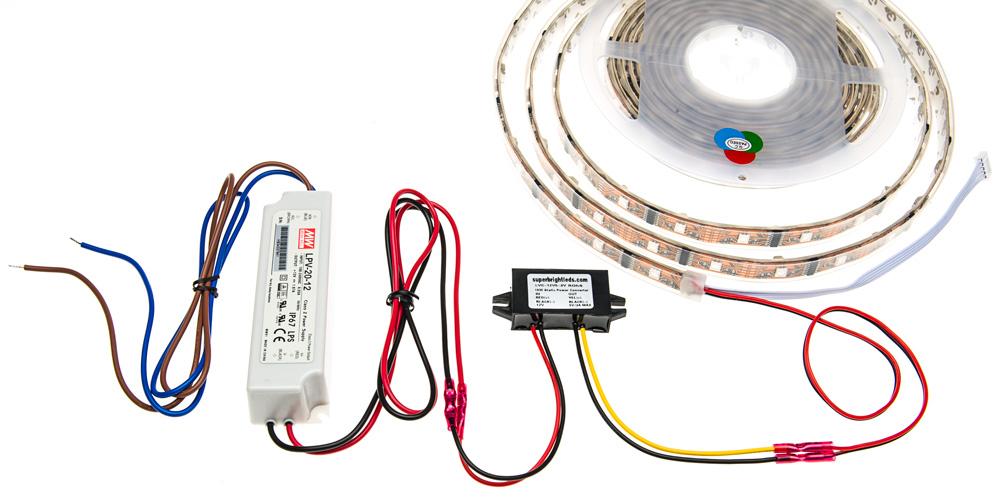 12V DC to 5V DC Step Down Converter/Voltage Reducer