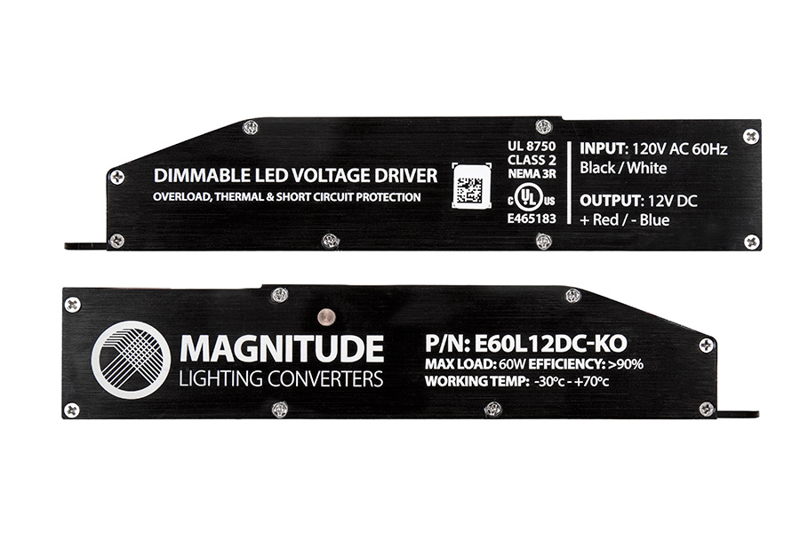Magnitude Dimmable LED Driver - Compact - 12 Volt | Dimmable LED ...