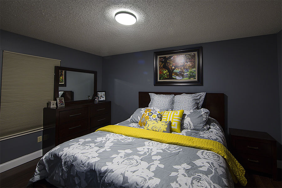 bright ceiling light for bedroom 12 quot flush mount led ceiling light w white housing 75 18380