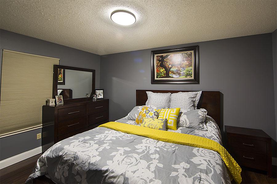 "14"" Flush Mount LED Ceiling Light W/ Brushed Nickel"
