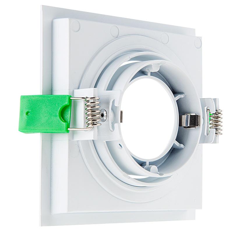 LED Recessed Light Engine W Square 98mm Aimable Trim 115 Watt Equivalent