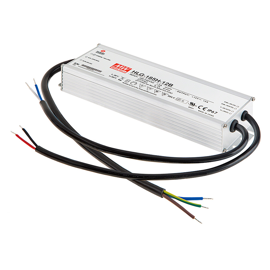 Mean Well Led Switching Power Supply Hlg Series 40 480w Ac 12v To Dc Converter Module Accessories Drivers See All Photos And Videos Select Cord