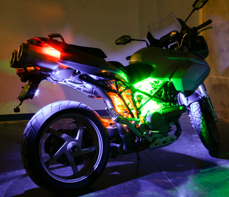 Changing Paint Color App On Motorcycle