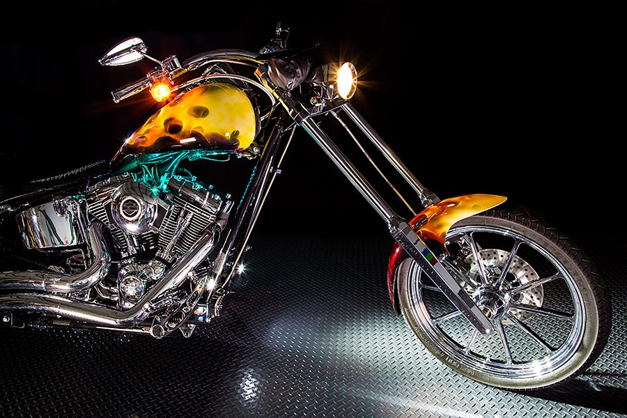 Motorcycle Led Lighting Kit Weatherproof Rgb Color