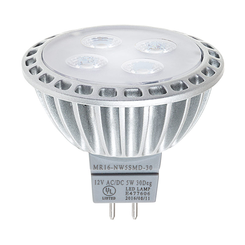 Mr16 Led Bulb 40 Watt Equivalent Bi Pin Led Spotlight Bulb 400 Lumens Landscaping Mr