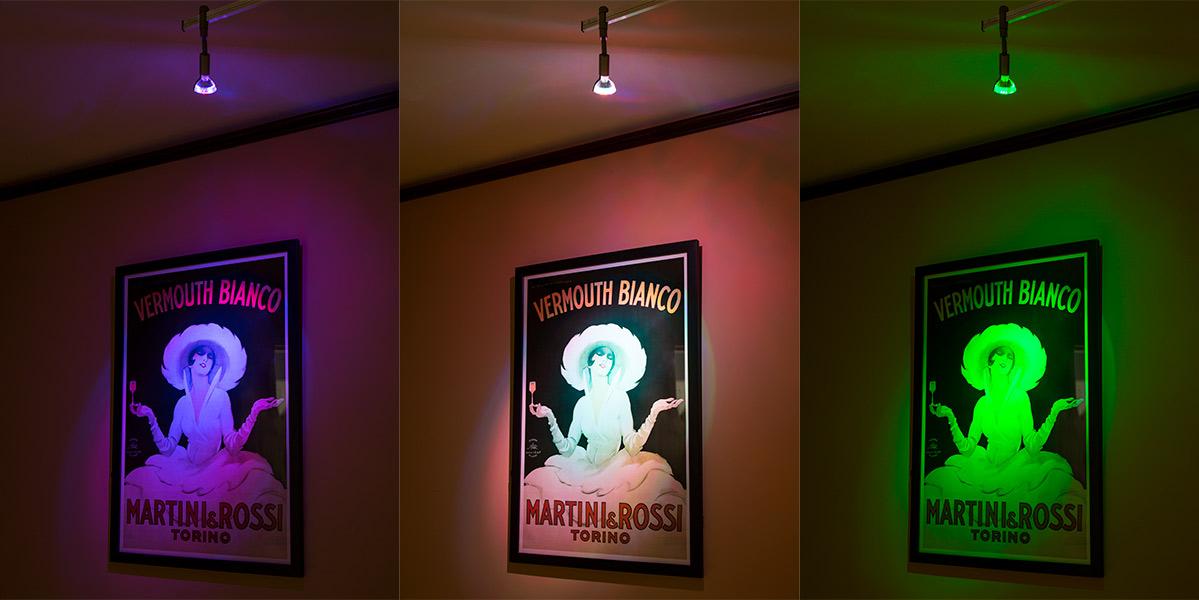 Color-Changing MR16 LED Bulb - 15 Watt Equivalent - Bi-Pin LED ...