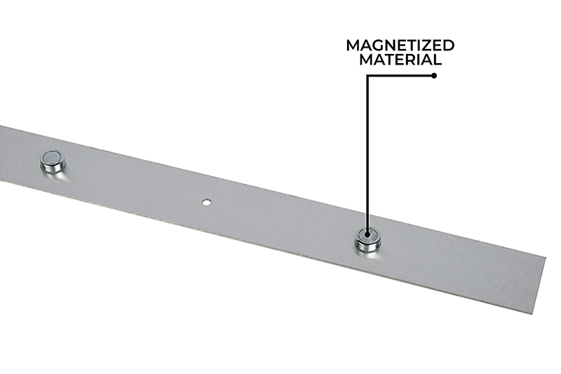 50W LED Magnetic Strip Troffer Retrofit Kit - 2x4 Troffer - 8,000 Lumens -  Dimmable