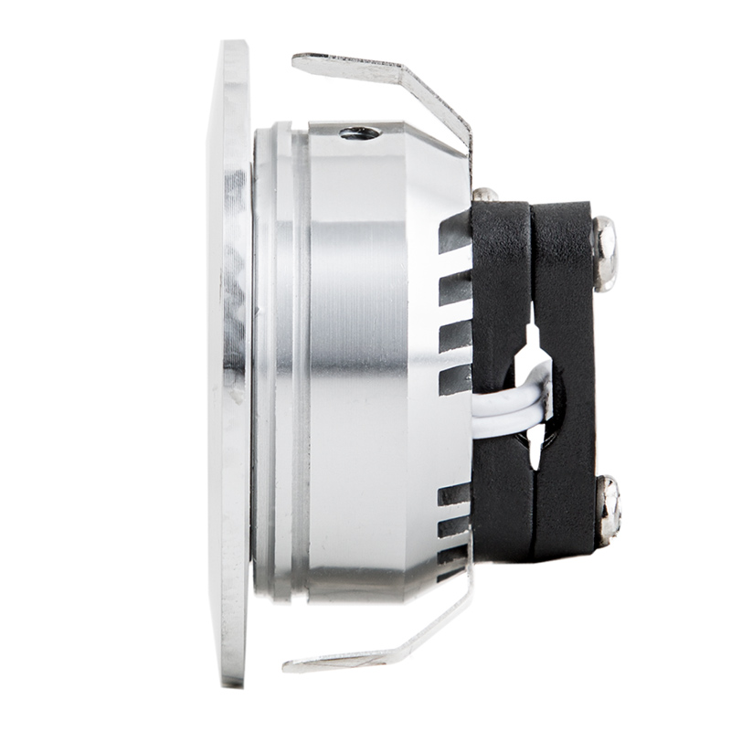 1 watt led downlight kit 6 piece recessed led lighting super 1 watt led downlight kit 6 piece profile view
