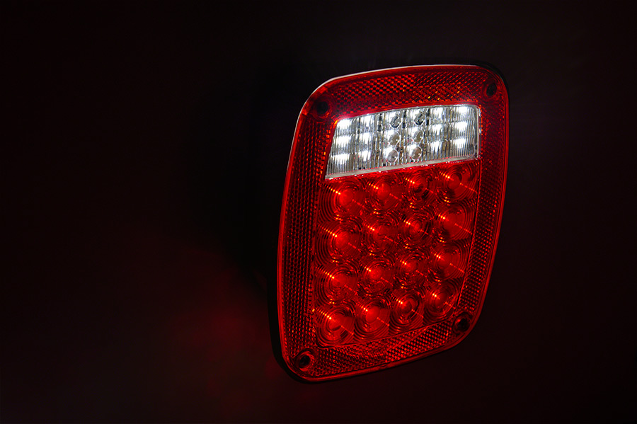 Multi function led truck and trailer lights combo box universal multi function led box tail lamp led tail lamp on showing brake and reverse multi function led box tail lamp led tail lamp on showing brake and reverse aloadofball Image collections