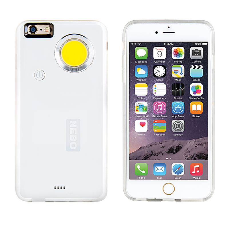 iphone 6 flashlight nebo casebrite iphone flashlight for 6 6s and 6 6s 11333