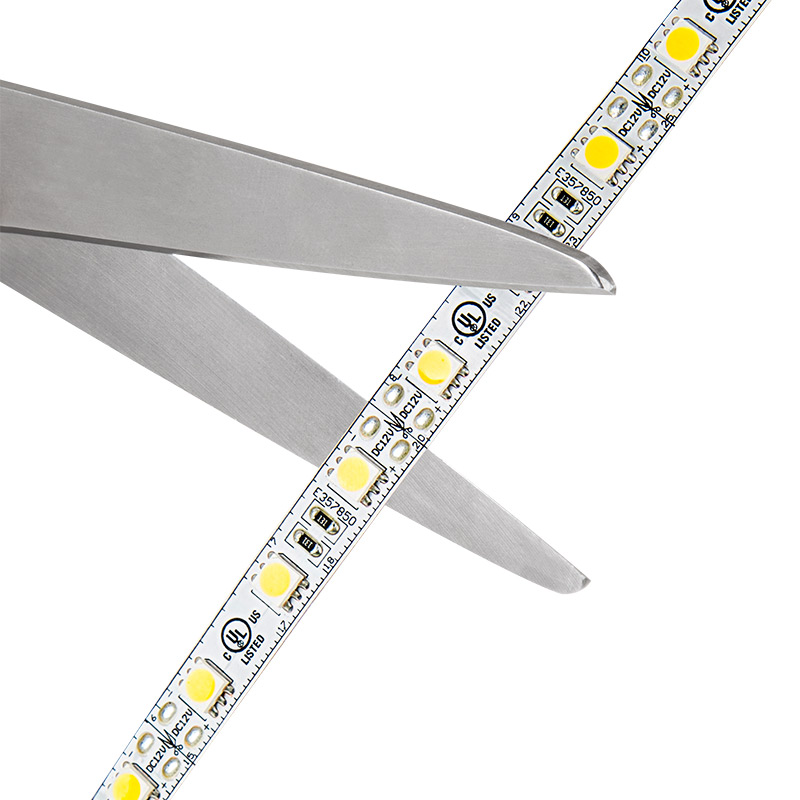 Led strip light reel 12v led tape light 101 402 lumensft led strip light reel 101ft led tape light with 18 smdsft 3 chip smd led 5050 strip may be cut along indicated scissor markings aloadofball Image collections