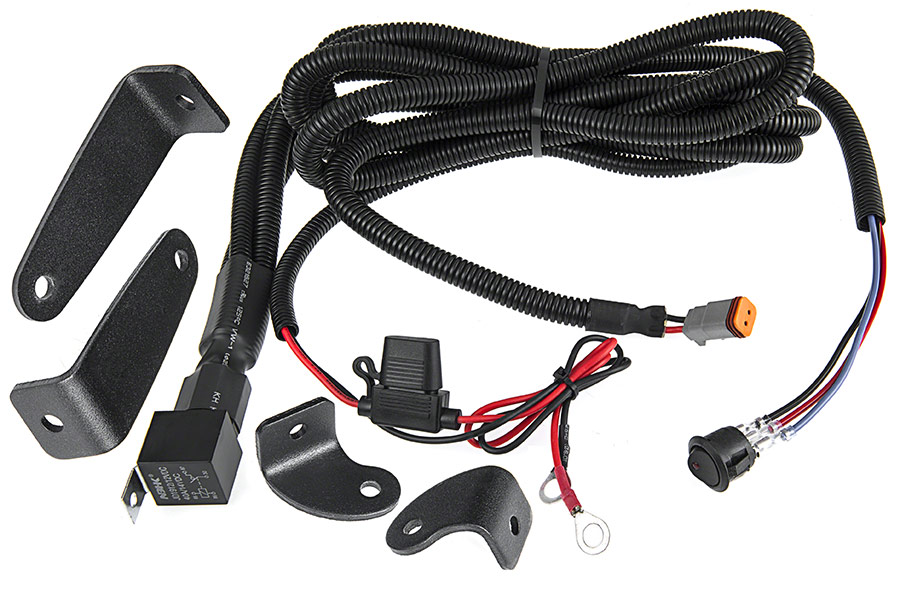off road led light bar alpha series wire harness 30\