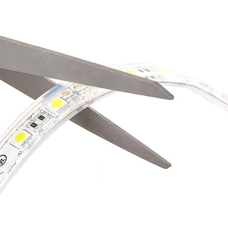 Outdoor Led Light Strips Waterproof Led Tape Light With 18 Smds Ft 3 Chip Smd Led 5050 Top