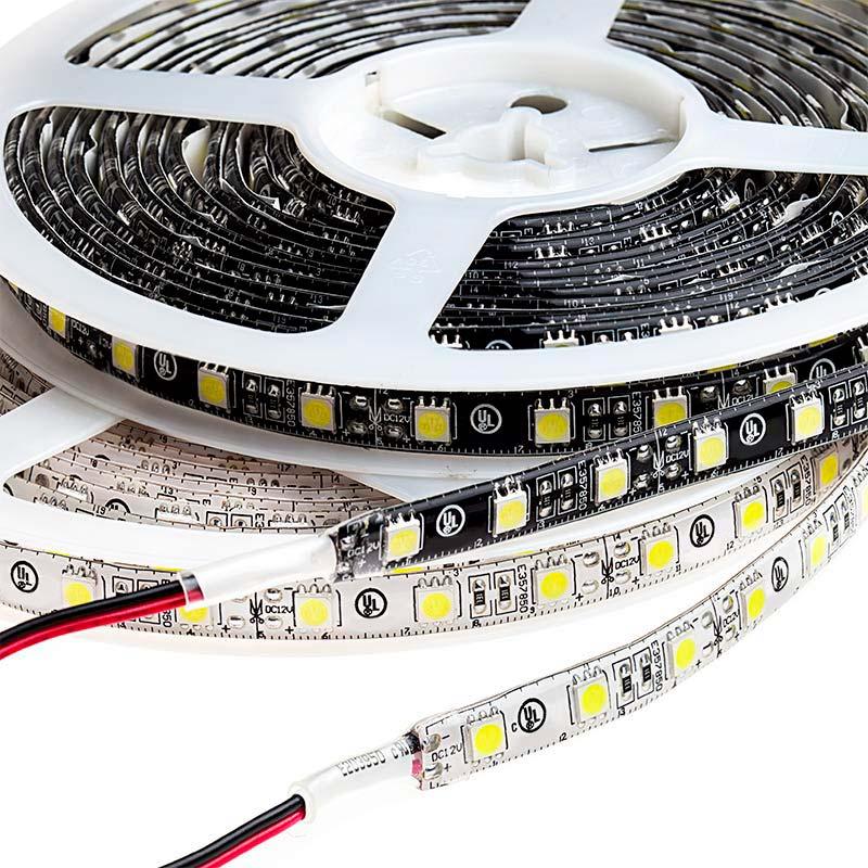 outdoor led strip lights weatherproof 12v led tape light 226 lumens ft. Black Bedroom Furniture Sets. Home Design Ideas