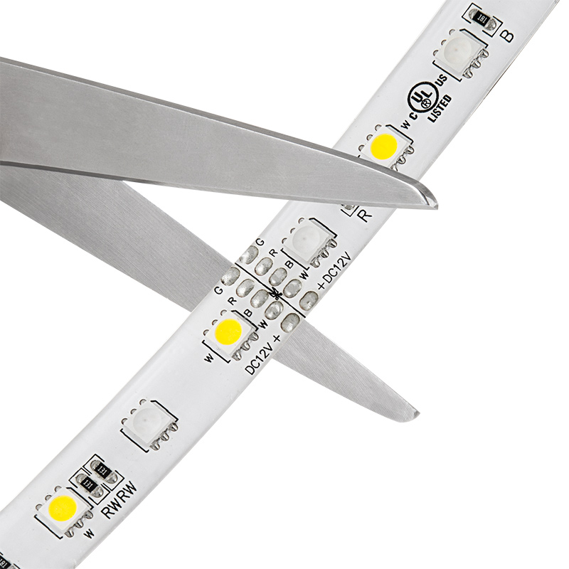 Outdoor rgbw led strip lights weatherproof 12v led tape light w outdoor led strip with multi color white leds weatherproof led tape light with 18 smdsft 3 chip rgbw smd rgb 5050 strip may be cut at indicated mozeypictures Images