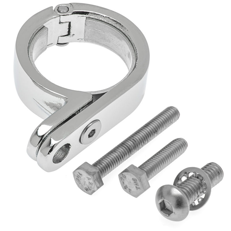 Kuryakyn Stainless Steel P-Clamp for Bar Mounts - Auxiliary Lights ...