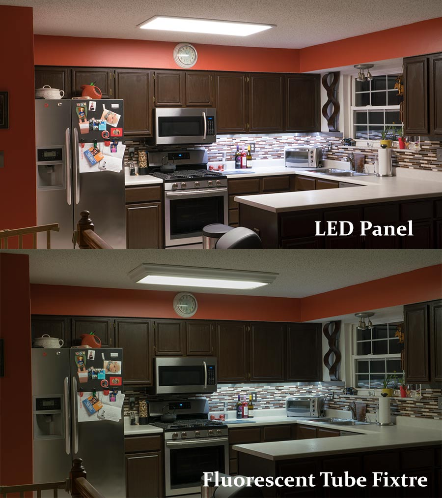 Flush Mount LED Panel Light