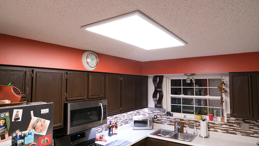 Led Panel Light 2x4 4 500 Lumens 40w Dimmable Even Glow 174 Light Fixture High Voltage Led