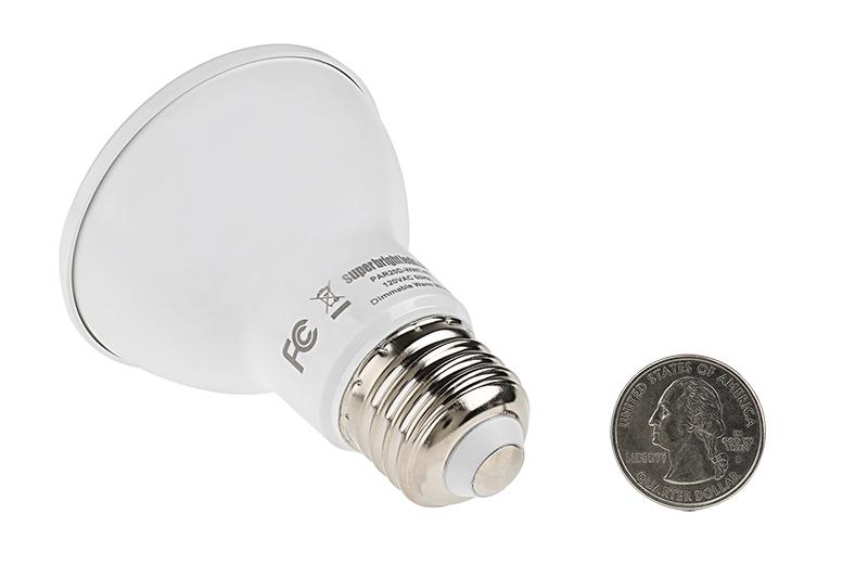 par20 led bulb 60 watt equivalent dimmable led spotlight bulb 620 lumens landscaping mr. Black Bedroom Furniture Sets. Home Design Ideas