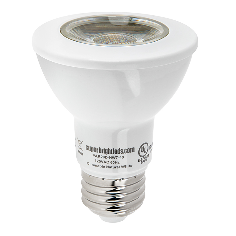 Par20 Led Bulb 60 Watt Equivalent Dimmable Led