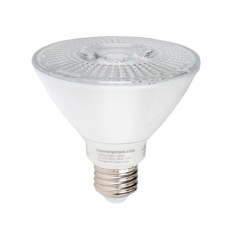 Par30 Led Light Bulb Led Spotlight Bulb 60w Equivalent Dimmable 900 Lumens Super Bright Leds