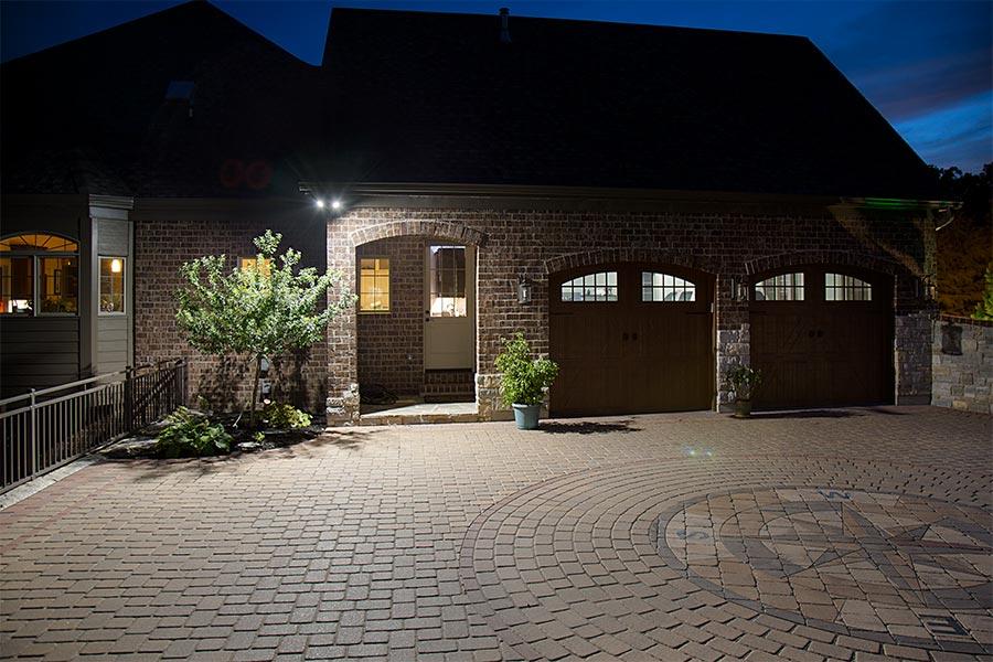 Outdoor Lighting Outstanding Outside Led Flood Light: 150 Watt Equivalent Weatherproof