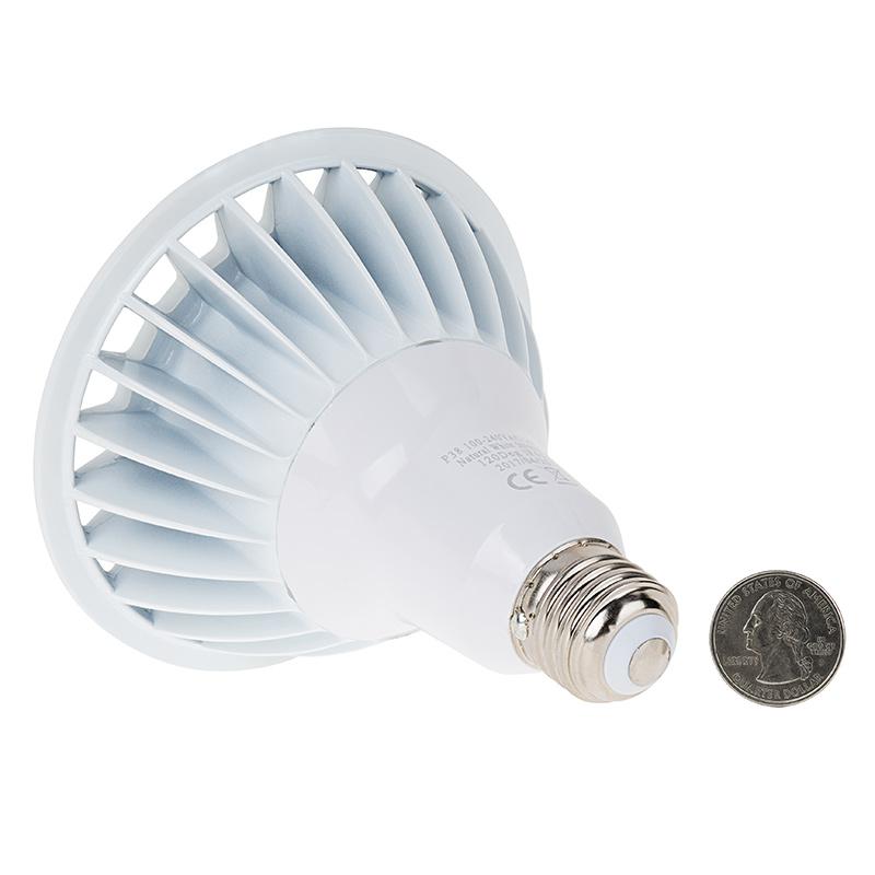 Par38 Outdoor Led Bulb 150 Watt Equivalent Weatherproof Led Flood Light Bulb 1 500 Lumens