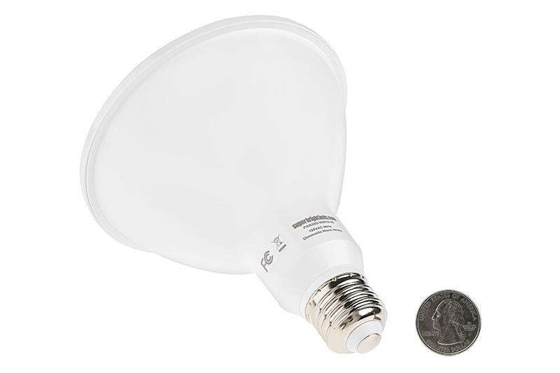 PAR38 LED Bulb   16 Watt   Dimmable LED Spotlight Bulb: Back View