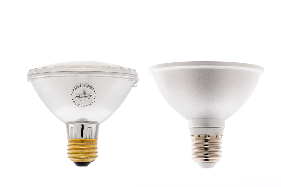 PAR30 LED Bulb - 45 Watt Equivalent LED Flood Light Bulb - 410 ...