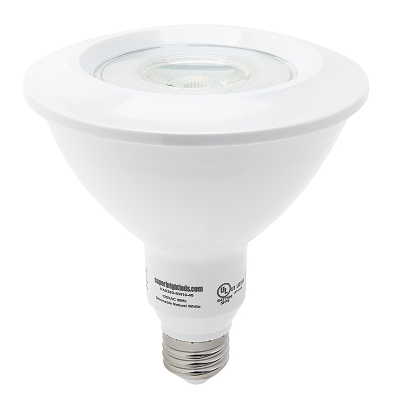 par38 led bulb 16 watt dimmable led spotlight bulb 1 500 lumens super bright leds. Black Bedroom Furniture Sets. Home Design Ideas