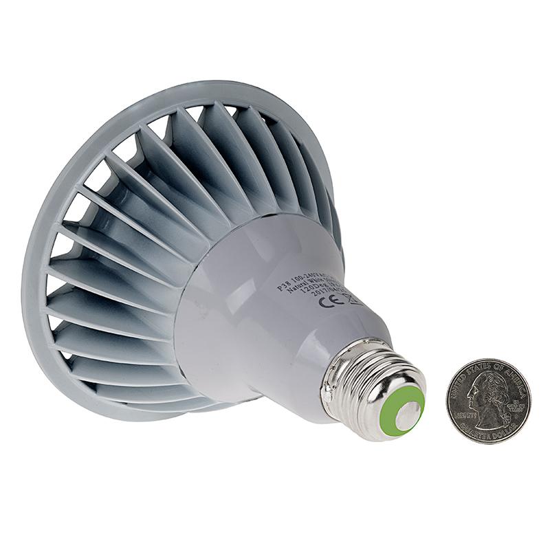 100 led outdoor flood light bulb ecosmart 90w equivalent br