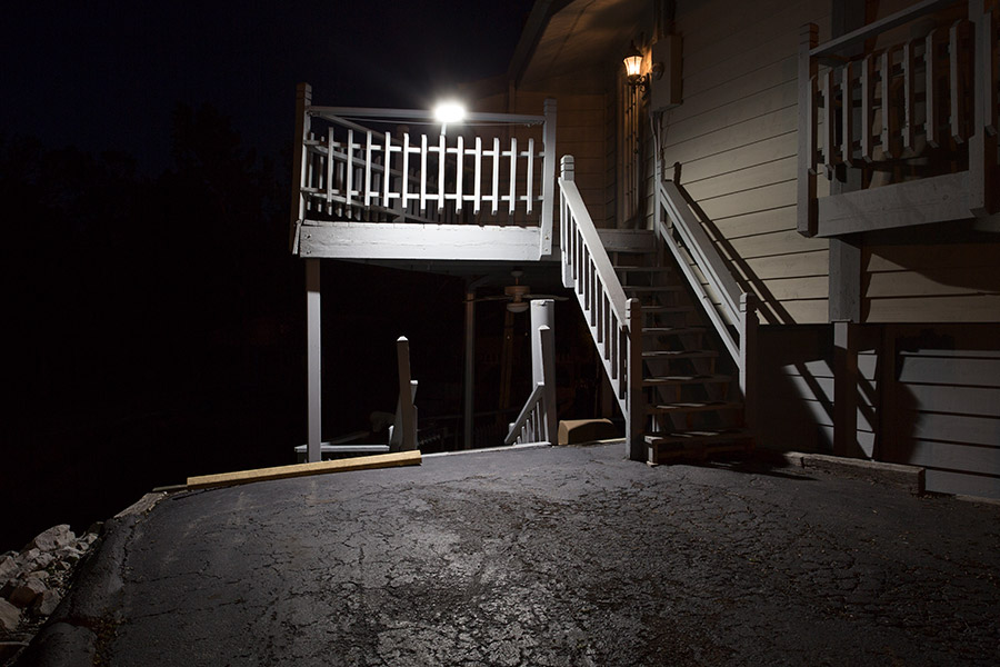 50w Led Dusk To Dawn Area Light 5 000 Lumens Photocell