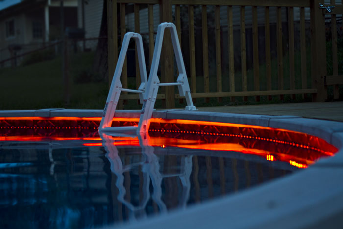 outdoor led light strips with multi color leds weatherproof led tape