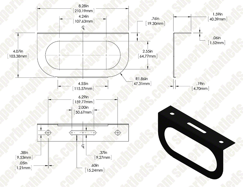 PT series Mounting Bracket