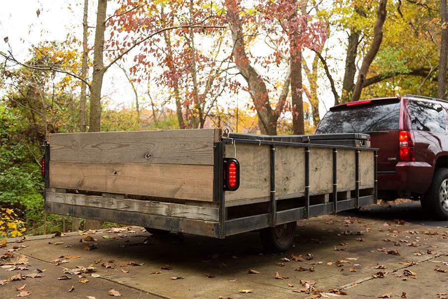 "Oval LED Back-Up Truck and Trailer Light - 6"" LED Reverse Light - 3-Pin  Connector - Flush Mount - 10 LEDs"