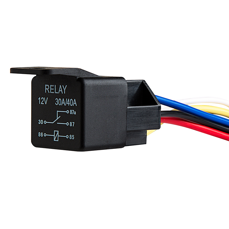 r5 spdt 1240 conn 12v dc 30 40a 5 pin universal relay wire harnesses & relays universal 12 volt wiring harness at reclaimingppi.co