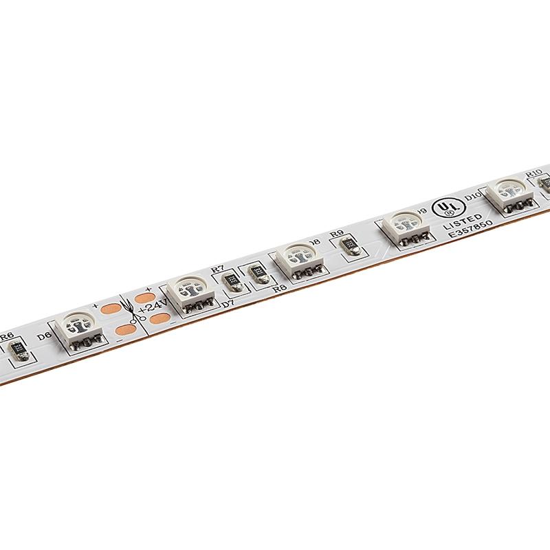 IP65 Brillant GB Scène 12V LED Bande Lumières Vue Latérale Type