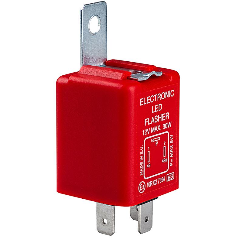 fl3 red led bulb electronic flasher car bulb. Black Bedroom Furniture Sets. Home Design Ideas