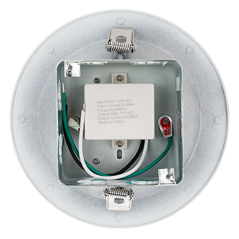 6 recessed led downlight w built in junction box and baffle trim replacement led downlights for 6 fixtures 65 watt equivalent led can light replacement integral junction box 650 lumens open view cheapraybanclubmaster Image collections