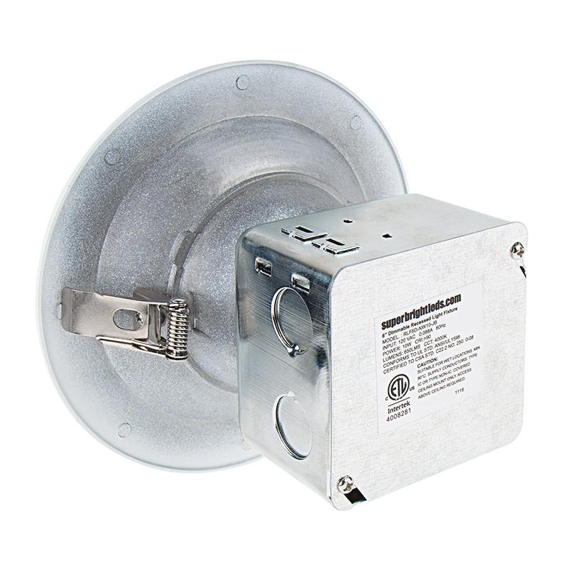 6 can free led downlights 95 watt equivalent integral