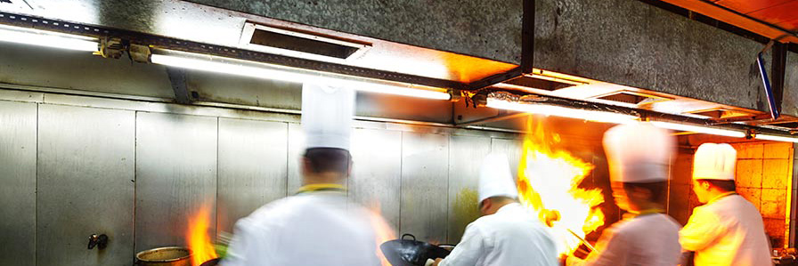Restaurant Kitchen Lighting