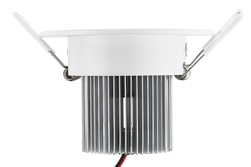 Led recessed light fixture w multifaceted lens 60 watt equivalent 7 watt cob led recessed light fixture w multifaceted lens mean well cc driver aloadofball Images