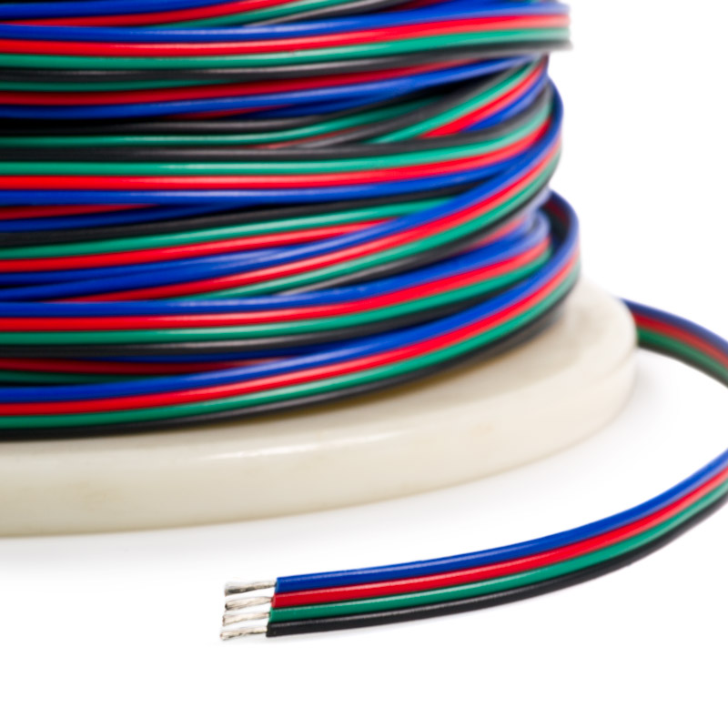 3 or 4 conductor multicolor flat cable, need source - Model Train ...