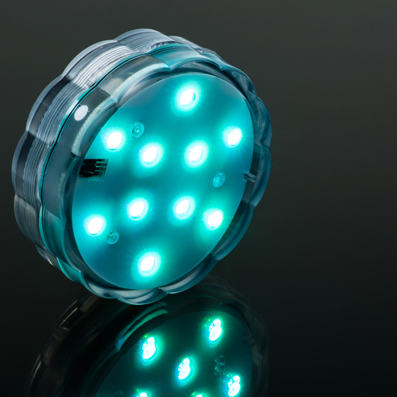 Submersible RGB LED Accent Light W Remote Novelty Lighting LED Flashligh