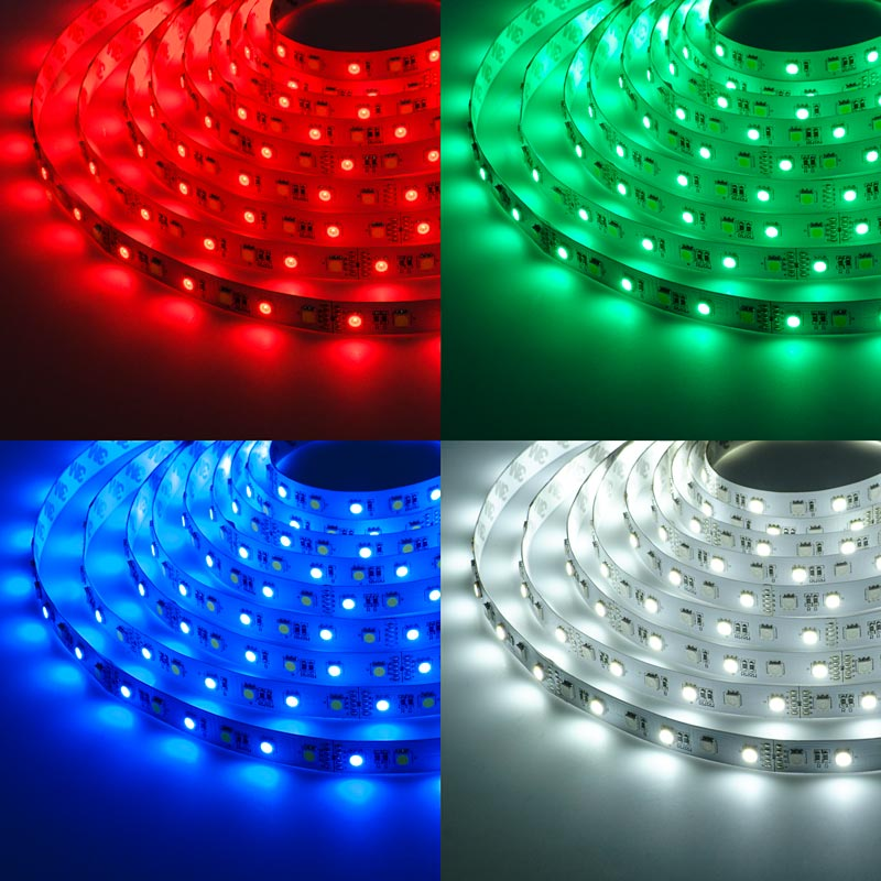 High Power Rgbw Led Weatherproof Flexible Light Strip