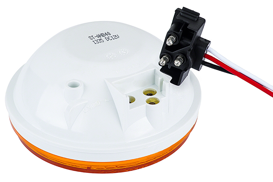 Right Angle 3-Pin Plug for Trailer Lights and Truck Lights | Plugs ...