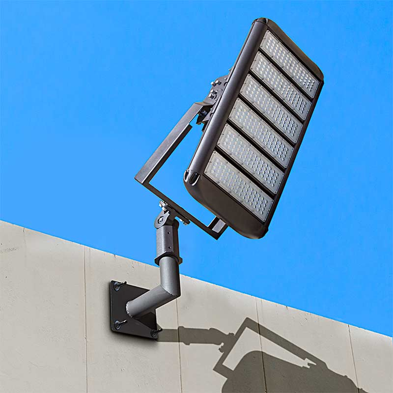 Wall-Mount Bracket For LED Area Lights And LED Parking Lot