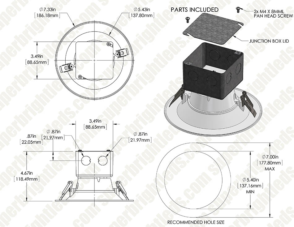 Led Downlights: Wiring Diagram For Led Downlights