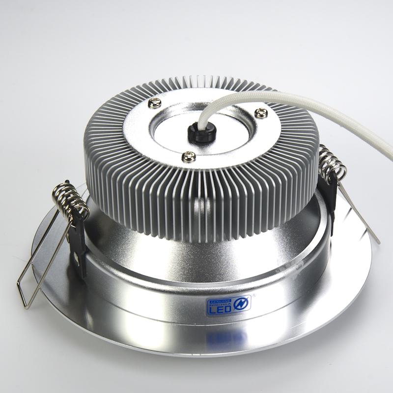 Led Light Fixture Wattage: 21 Watt LED Recessed Light Fixture